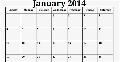 january calendar template free printable calendar free printable calendar january