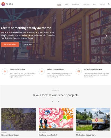 template joomla parallax 17 best images about 12 more of the best parallax joomla