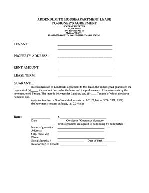 bed bug addendum lease amendment to add tenant forms and templates
