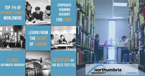 Mba Northumbria by Northumbria Cus Popular Courses Alumni