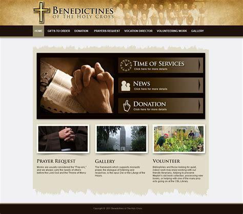 Church Website Design And Church Logo Design Ministry Website Templates