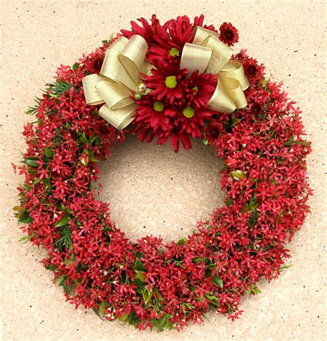 xmas flower decorations flowers victoria