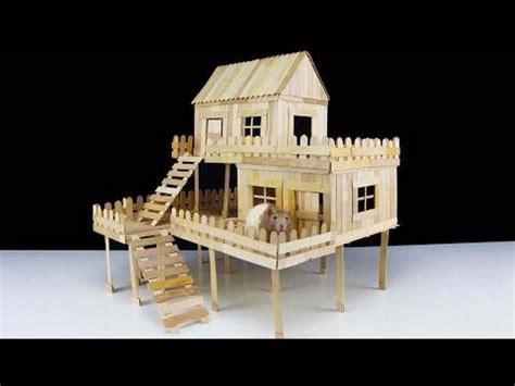 how do you build a house c 243 mo hacer popsicle palo de la casa para la rata youtube