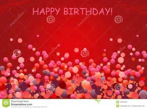 birthday greetings card with balloon stock photo image 13815080