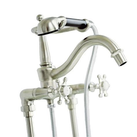 old bathtub faucets kohler antique 8 in 2 handle claw foot tub faucet with