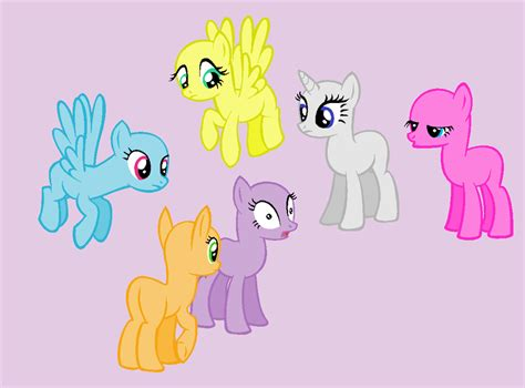 mlp pony base group my little pony group base pictures to pin on pinterest