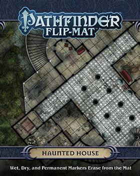Dragonstore Pathfinder Flip Mat Haunted House