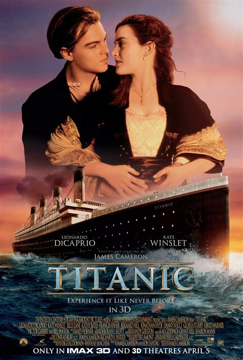 titanic film movie shaun owyeong titanic 3d
