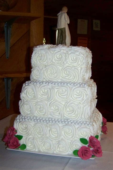 square wedding cake roses square wedding cake cakecentral