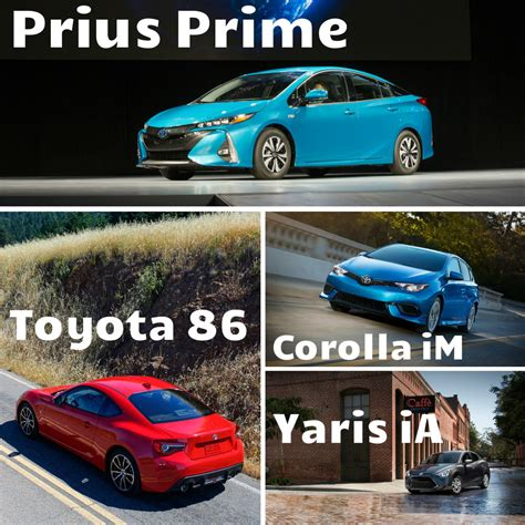 new toyota lineup new additions to 2017 toyota model lineup