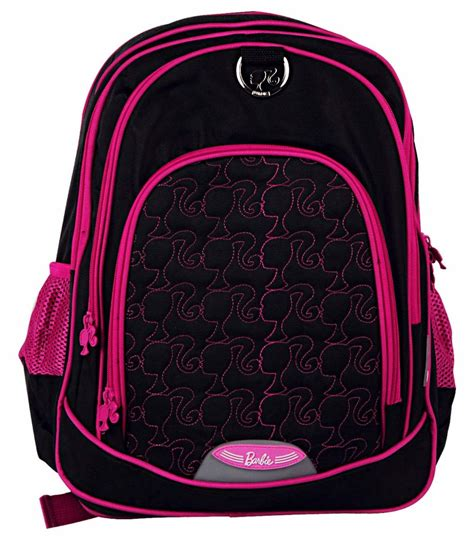 buy genius leathercraft barbie school bag 16 inches