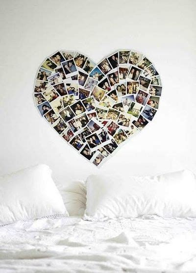 Best Dorm Rooms - photo wall collage without frames 17 layout ideas
