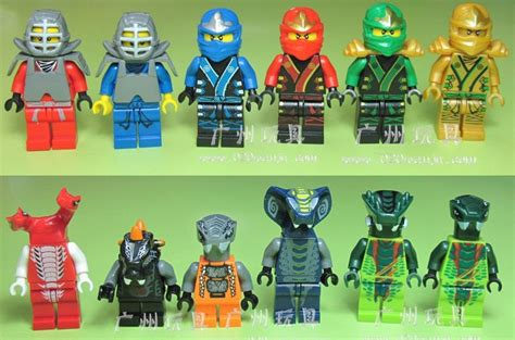 Lego Doll D127 1 6 Set Go ninjago minifigure basilisk with weapons cards