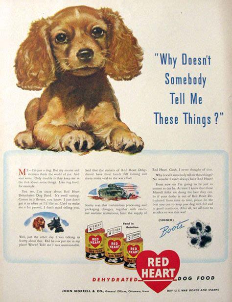 puppy ads 1943 food ad cocker spaniel puppy vintage ads with animals