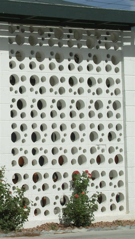decorative concrete blocks s vintage vegas mid century modern homes