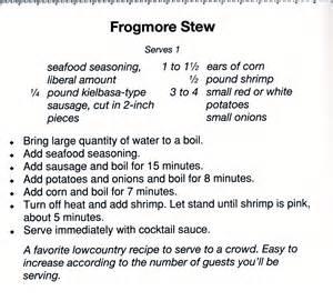 Frogmore stew recipe dishmaps