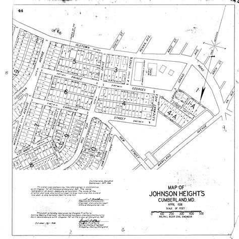 Allegany County Judiciary Search Maryland State Archives Allegany County Circuit Court Land Survey Subdivision And