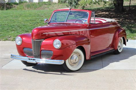 1941 ford convertible 1941 ford custom convertible 182559