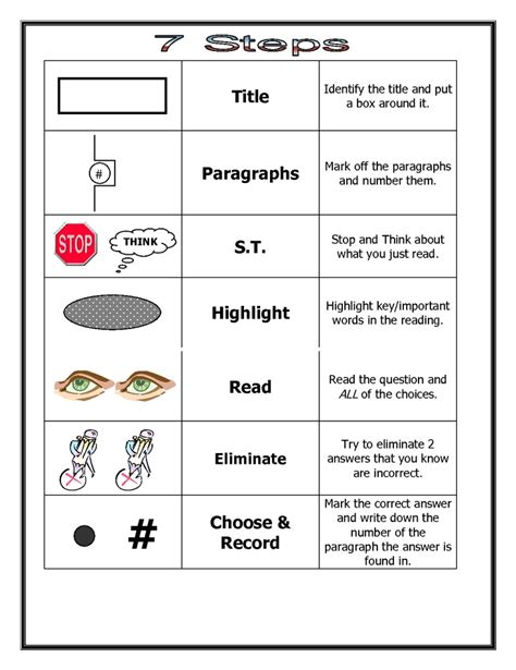 reading comprehension test taking strategies 40 best avid test taking strategies images on pinterest