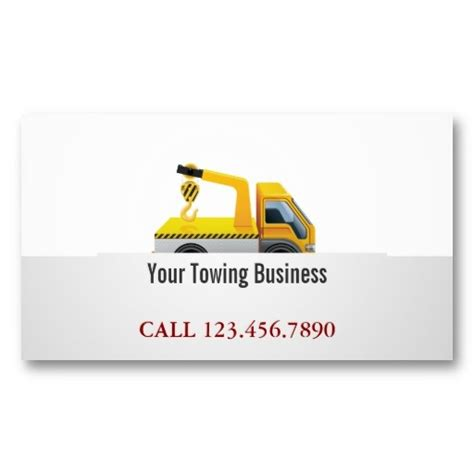 towing service business card template 1000 images about tow truck business cards on
