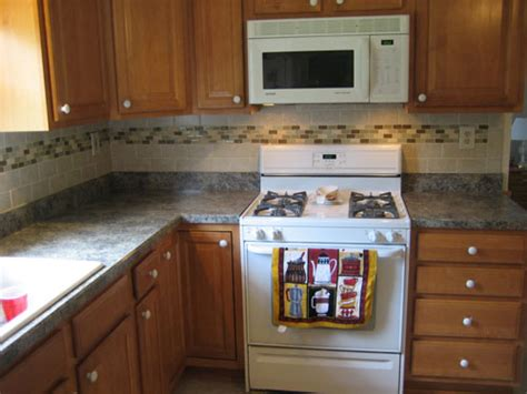 Ceramic Tile Backsplash Kitchen Backsplash Designs For Small Kitchen