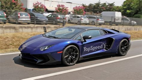 lamborghini aventador sv roadster vs coupe lamborghini aventador sv roadster caught testing spy shots top speed