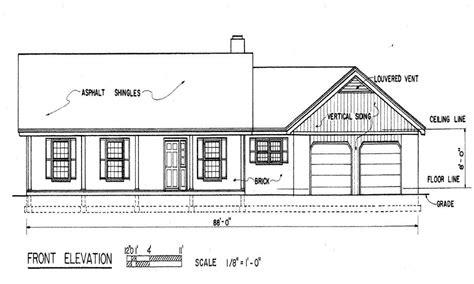 Basic Ranch House Plans by Simple Ranch House Floor Plans Simple Ranch House Plans
