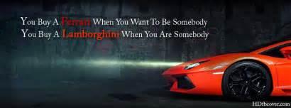Lamborghini quotes facebook covers