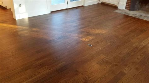 Best Stain For Oak Floors by Staining 4 Quot White Oak Floors In Carlisle Ma Central