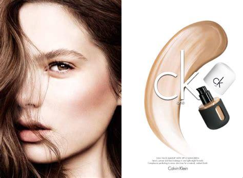 Makeup Josi David ck one cosmetics fall 2013 caign