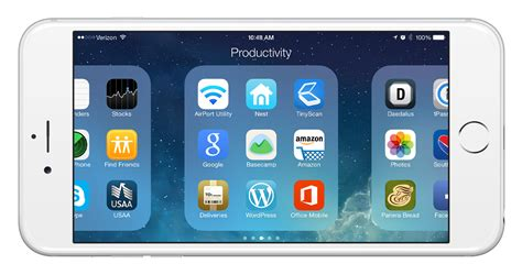 Landscape Mode Iphone Browse Folders Faster With Iphone 6 Plus Landscape Mode