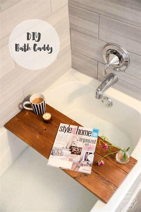 Bathroom Caddy Ideas Best 25 Bath Caddy Ideas On Pinterest Bath Shelf Spa