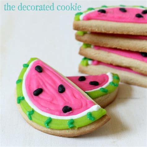 The Decorated Cookie by Watermelon Decorated Cookies For Summerthe Decorated Cookie