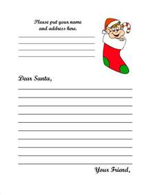 Santa Claus Letter Template by Santa Claus Letter New Calendar Template Site