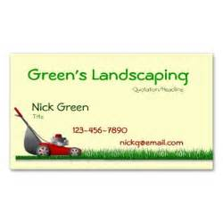 landscaping business cards exles 1000 images about landscaping business cards on