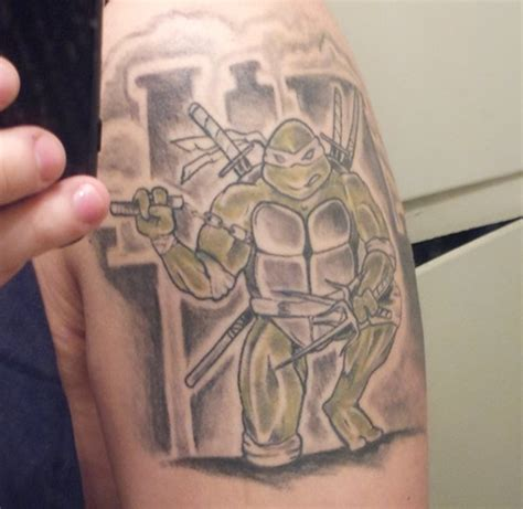 teenage mutant ninja turtles tattoos global news tag archive arm