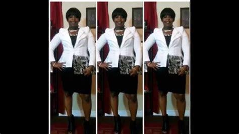 church flow white blazer black dress