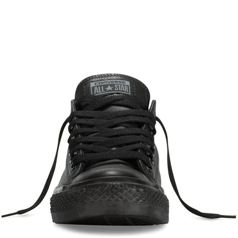 Converse Low Ct2 Black Mono chuck all leather converse fr