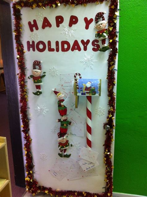 images  holiday door decorating ideas  pinterest