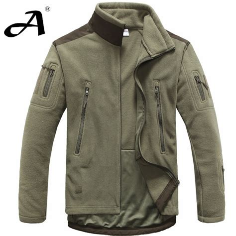 Jaket Parasut Asian mens clothing autumn winter fleece army jacket softshell