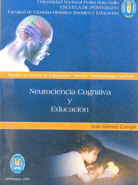 libro neurociencia para julia libro para descargar neurociencia cognitiva y educaci 243 n