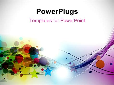 different design for powerpoint slides powerpoint template abstract circles stars and curves