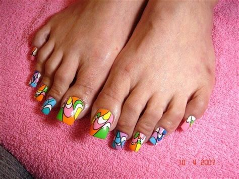 simple acrylic nail painting ideas simple acrylic toe nail designs for beginners to do at home