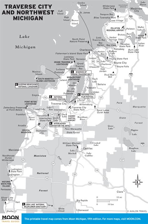 city map of michigan printable travel maps of michigan moon travel guides