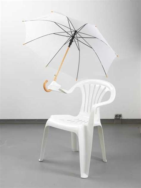 Chairs Chairs Chairs Design Ideas Creative Design Ideas Turn White Plastic Chairs Into Seats And Swings