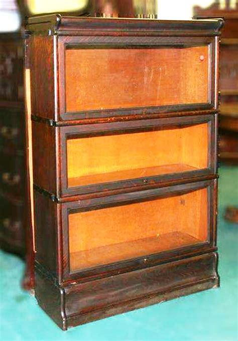 Antique Stacking Bookcase Elastic Storage Multi Section Stacking Bookcases Worthpoint