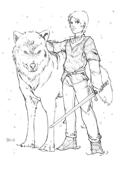 official game of thrones coloring book pages colored