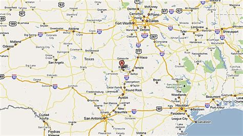 map of killeen texas fort texas on map my