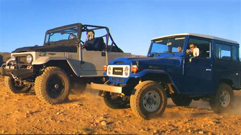 icon land cruiser 1983 toyota land cruiser fj vs icon 4x4 fj fifth gear