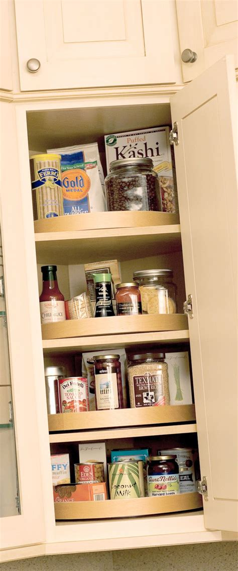 kitchen corner cabinet turntable woodworking projects